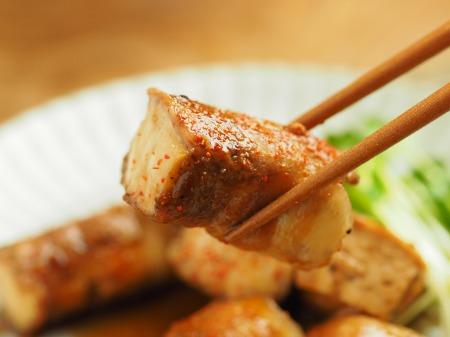 焼き豆腐肉巻き照り焼き033