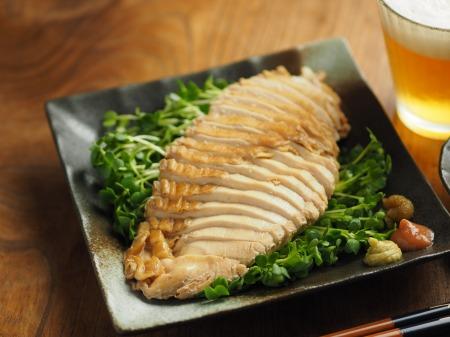 鶏むね肉のポン酢蒸し019