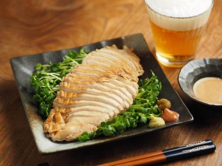 鶏むね肉のポン酢蒸し007