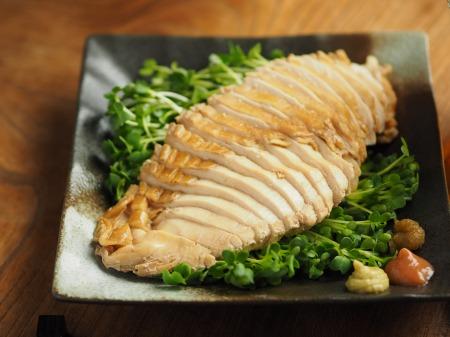 鶏むね肉のポン酢蒸し016