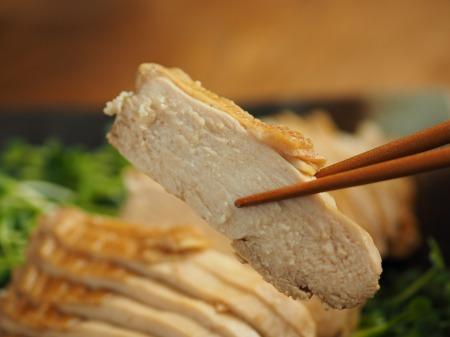 鶏むね肉のポン酢蒸し022