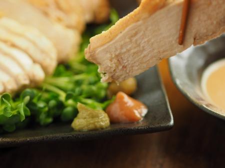 鶏むね肉のポン酢蒸し023