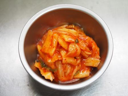 イカとゴーヤのキムチ炒め丼028