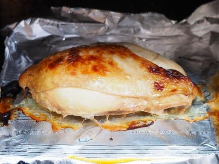 鶏むね肉のぽん酢焼き040