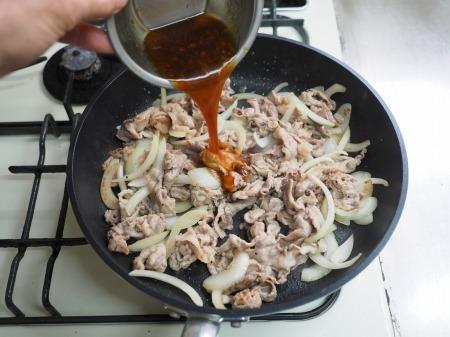 豚肉の梅しそ焼き070