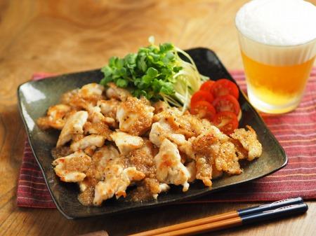 鶏むね肉のフライパン焼き玉ね011
