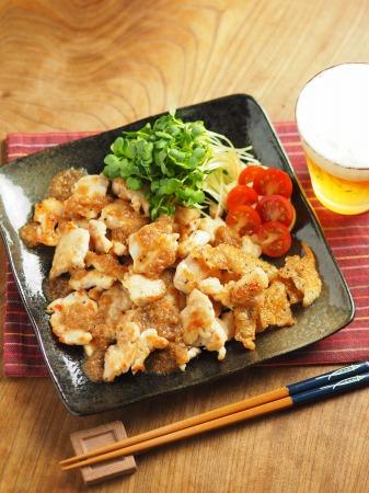鶏むね肉のフライパン焼き玉ね017
