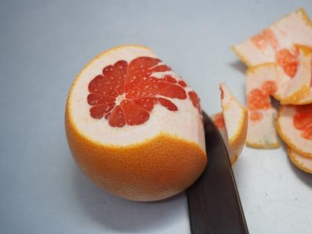 タコとサーモンのフルーツサラダ034