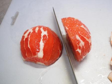 タコとサーモンのフルーツサラダ038