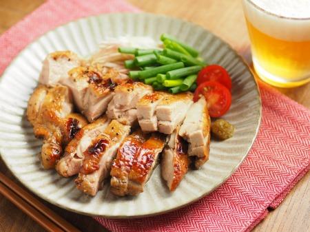 鶏もも肉のポン酢漬けオーブン008