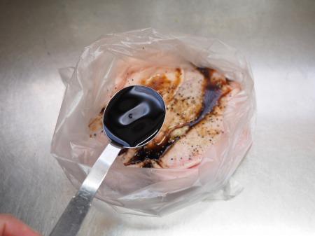 鶏もも肉のポン酢漬けオーブン026