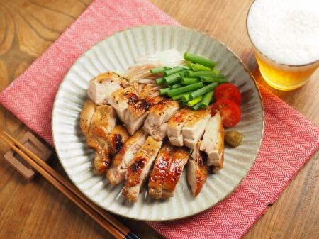 鶏もも肉のポン酢漬けオーブン010