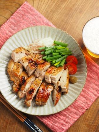 鶏もも肉のポン酢漬けオーブン012