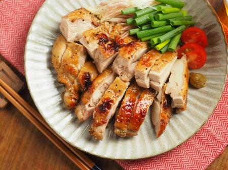 鶏もも肉のポン酢漬けオーブン014
