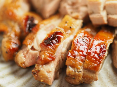 鶏もも肉のポン酢漬けオーブン017