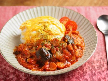 トマトソースご飯008