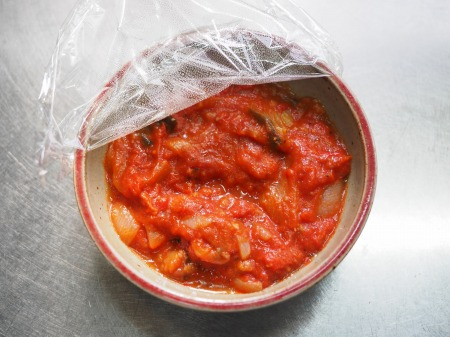 トマトソースご飯028