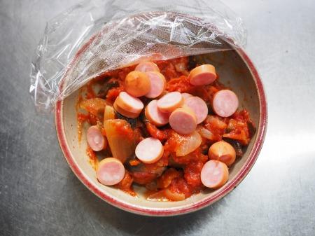 トマトソースご飯031