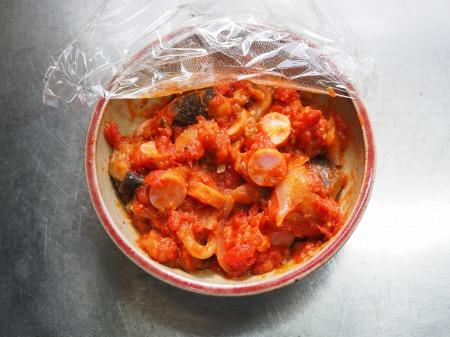 トマトソースご飯032