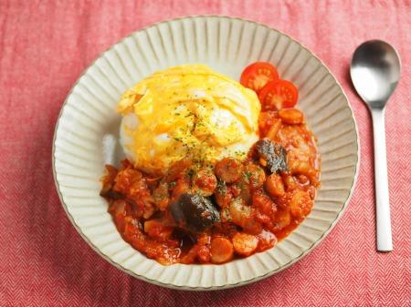 トマトソースご飯013