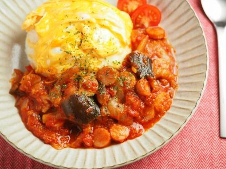 トマトソースご飯016