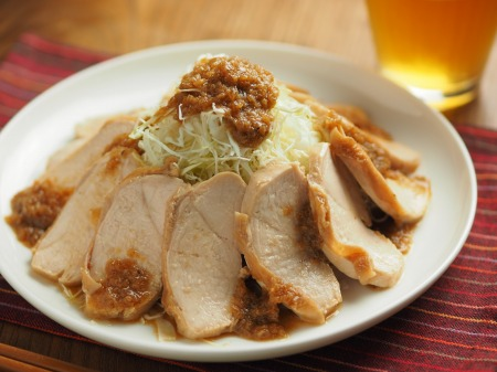 鶏むね肉のぽん酢蒸し冷凍017