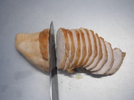 鶏むね肉のぽん酢蒸し冷凍031