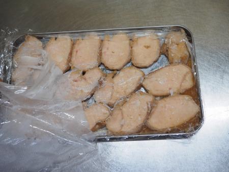 鶏むね肉のぽん酢蒸し冷凍038