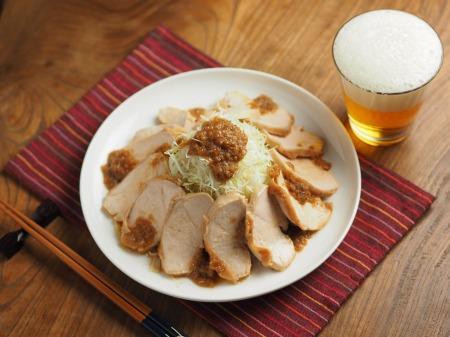 鶏むね肉のぽん酢蒸し冷凍004