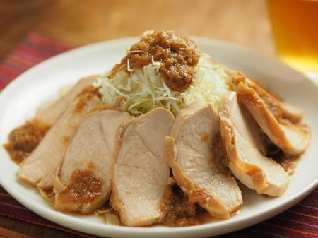 鶏むね肉のぽん酢蒸し冷凍020