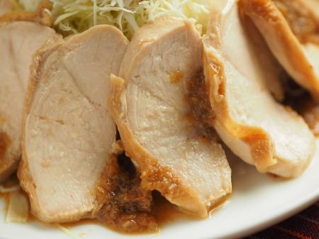 鶏むね肉のぽん酢蒸し冷凍019