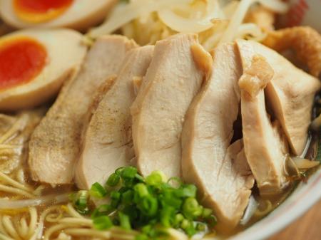 鶏むね肉のぽん酢蒸しと棒ラ028