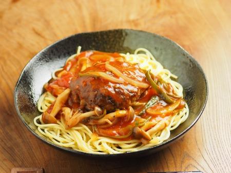 あんかけスパゲティ、ハンバーグ023