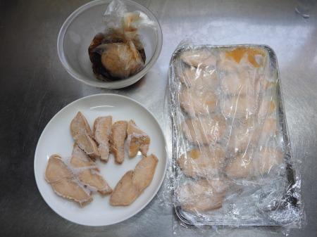 鶏むね肉のぽん酢蒸しサラダ026