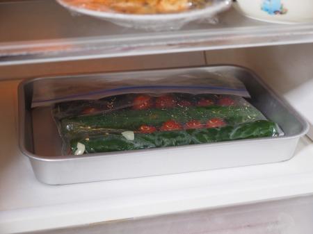 きゅうりのにんにく焼酎漬け011