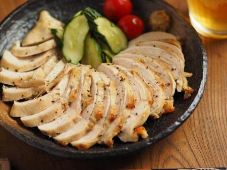 鶏むね肉のアンチョビマヨネーズ007