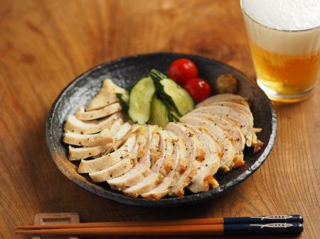 鶏むね肉のアンチョビマヨネーズ004