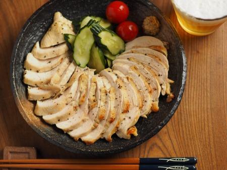 鶏むね肉のアンチョビマヨネーズ013
