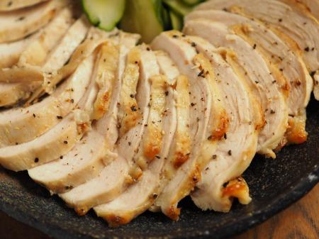 鶏むね肉のアンチョビマヨネーズ015