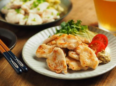 水晶鶏の冷凍保存018