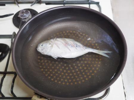 モチウオと厚揚げの煮付け041
