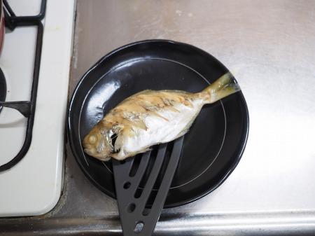 モチウオと厚揚げの煮付け057