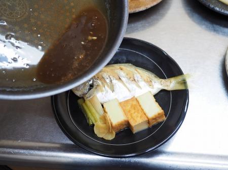 モチウオと厚揚げの煮付け062
