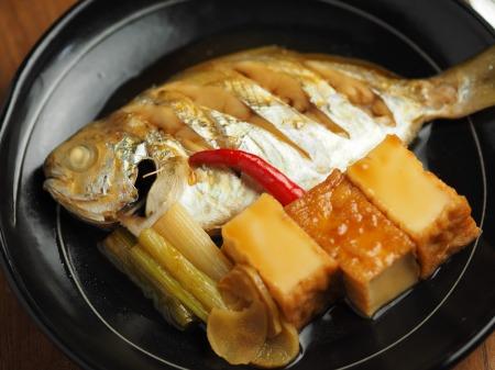 モチウオと厚揚げの煮付け012