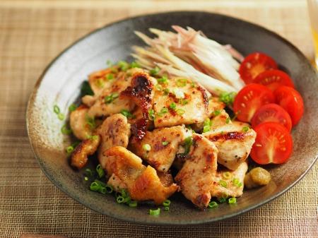 鶏むね肉のぽん酢焼き002