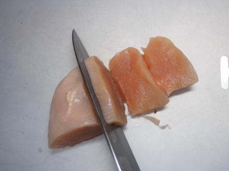 鶏むね肉のぽん酢焼き028