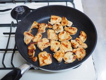 鶏むね肉のぽん酢焼き046