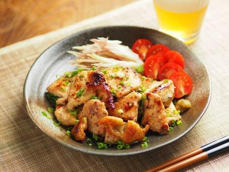 鶏むね肉のぽん酢焼き006