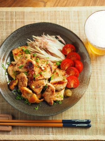 鶏むね肉のぽん酢焼き014