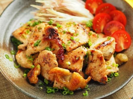 鶏むね肉のぽん酢焼き023